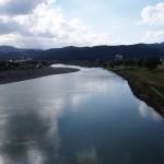 上野橋からの桂川