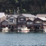 伊根の舟屋 10月