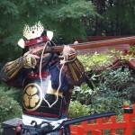 船岡祭 火縄銃の実演