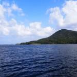 久美浜湾と兜山 10月