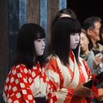 時代祭 江戸時代婦人列 吉野太夫の禿