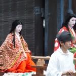 時代祭 平安時代婦人列 清少納言と紫式部