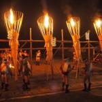 鞍馬の火祭 神楽松明