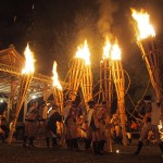 鞍馬の火祭 10月