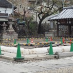 大将軍神社 拝殿跡