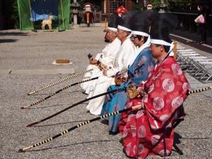 八坂神社 草鹿式