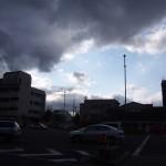 時雨れ模様の京都
