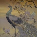 京都御所 塩川文麟の花鳥図
