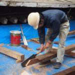 知恩院 御影堂の大修理 職人さんの技も見られる