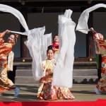 上賀茂神社 着物で集う園遊会 京小町踊り子隊 11月