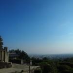 一条・堀河天皇陵からの絶景