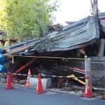 大将軍神社 台風被害 10月