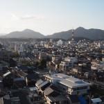 福知山城からの眺め