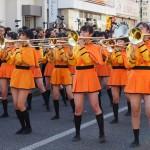 京都橘高校のマーチングバンド