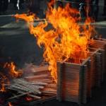上御霊神社 火焚祭 11月