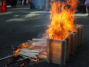 上御霊神社 火焚祭