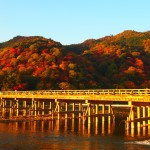 嵐山 渡月橋 11月23日