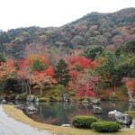嵐山と渡月橋 11月24日