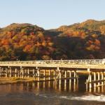 嵐山 渡月橋 11月25日