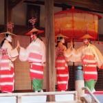 隋心院 はねず踊り ミス小野小町コンテストにて 11月