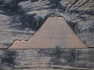 西本願寺 埋め木