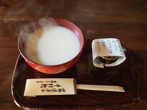 中村軒の白味噌お雑煮