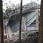 延暦寺 根本中堂の修復 12月