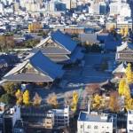 京都タワーからの東本願寺