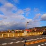 七条大橋からの虹