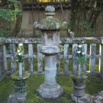 高桐院 忠興とガラシャの墓
