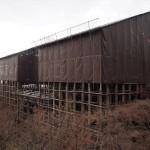 清水寺 本堂の修復 12月