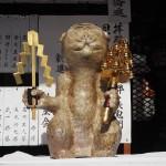 赤山禅院 新しい猿の像