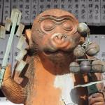 赤山禅院 これまでの猿の像