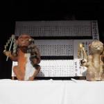 赤山禅院 猿の像