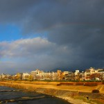 鴨川の虹 12月