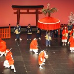 祇園祭創始1150年記念「祇園祭 記念フェスタ」 玄武やすらい 12月
