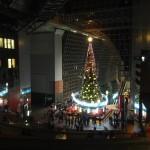 京都駅 クリスマスイルミネーション