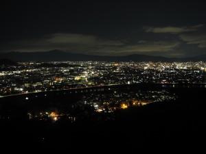 「いわたやま」からの夜景