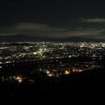 「いわたやま」からの夜景 12月