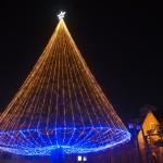 同志社大学のクリスマスツリー