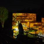京都府立植物園 プロジェクションマッピング