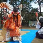 新熊野神社 綱掛祭 石見神楽 12月
