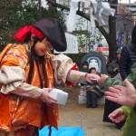 新熊野神社 綱掛祭の石見神楽
