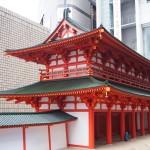 羅城門 10分の1模型展示 12月