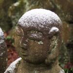 愛宕念仏寺 雪化粧