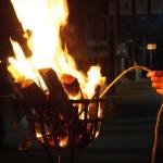 北野天満宮 火之御子社鑽火祭