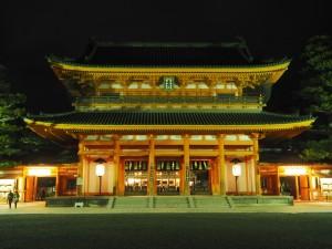 大晦日の平安神宮
