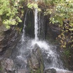 龍門の滝 金閣寺
