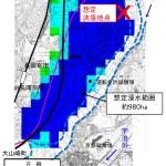 桂川決壊の浸水想定図 平成25年9月台風18号洪水の概要より