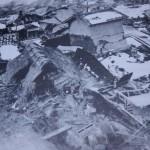 北丹後地震でつぶれた家々